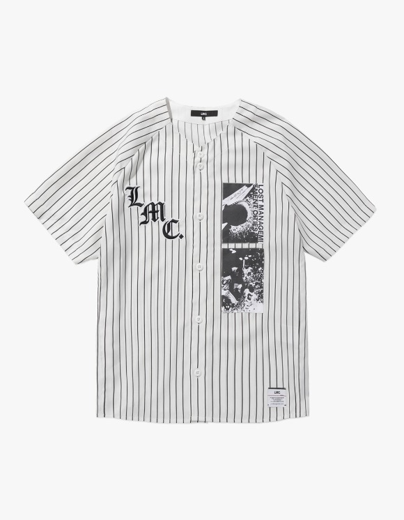 LMC LMC BASEBALL JERSEY white | HEIGHTS. | 하이츠 온라인 스토어