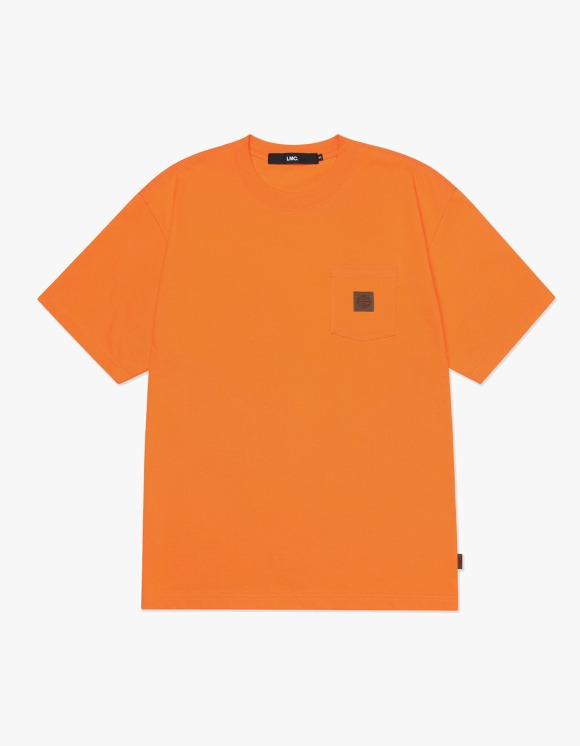 LMC LMC BASIC POCKET TEE orange | HEIGHTS. | 하이츠 온라인 스토어