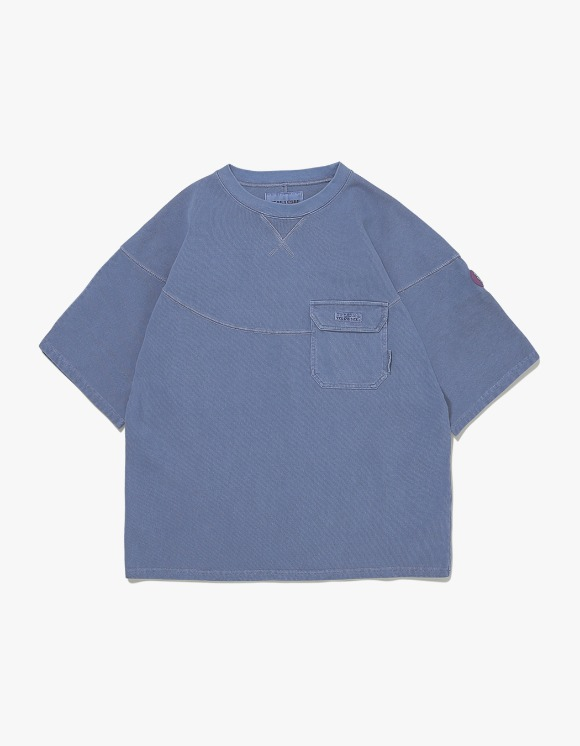 yeseyesee Wide 3 Panel Tee - Navy | HEIGHTS. | 하이츠 온라인 스토어