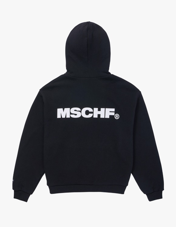 MISCHIEF Slogan Hoodie - Black | HEIGHTS. | 하이츠 온라인 스토어