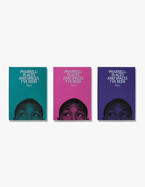 Rizzoli New York Pharrell : Places And Spaces i've been | HEIGHTS. | 하이츠 온라인 스토어