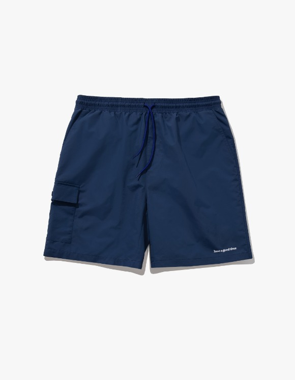 have a good time Aqua Shorts - Navy | HEIGHTS. | 하이츠 온라인 스토어