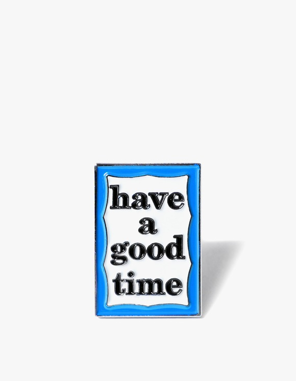 have a good time Blue Frame Pin | HEIGHTS. | 하이츠 온라인 스토어