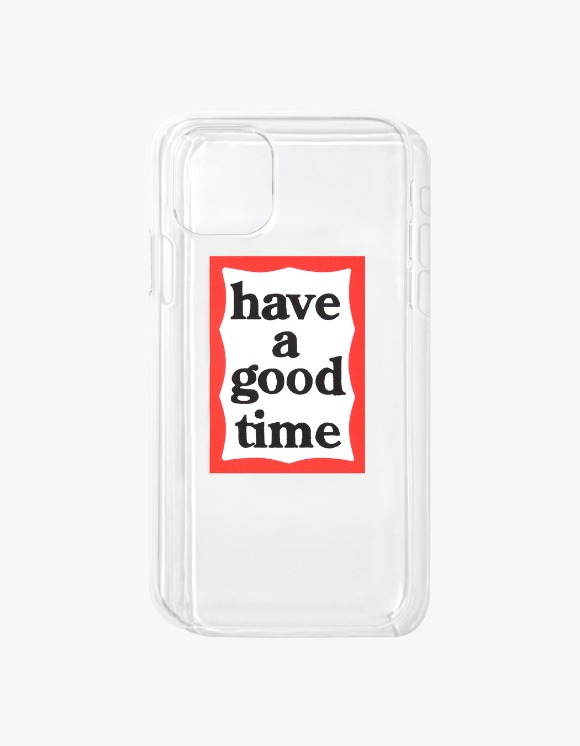have a good time Frame iPhone Case 11 - Clear | HEIGHTS. | 하이츠 온라인 스토어