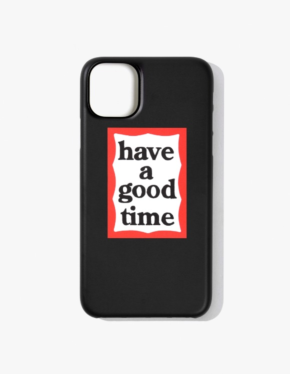 have a good time Frame iPhone Case 11 - Black | HEIGHTS. | 하이츠 온라인 스토어