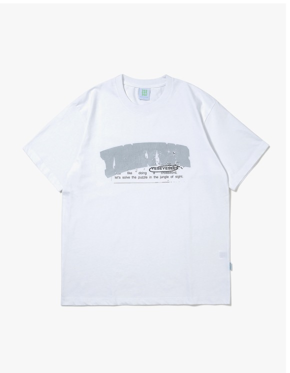 yeseyesee Pop Logo Tee - White | HEIGHTS. | 하이츠 온라인 스토어