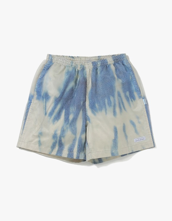 yeseyesee Bleached Shorts - Blue | HEIGHTS. | 하이츠 온라인 스토어