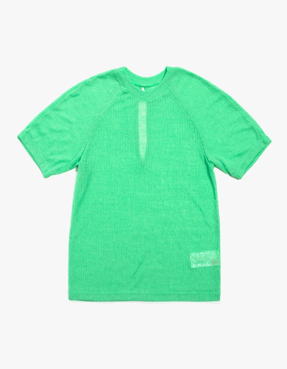 KIJUN Back Slit T-shirts - Green | HEIGHTS. | 하이츠 온라인 스토어