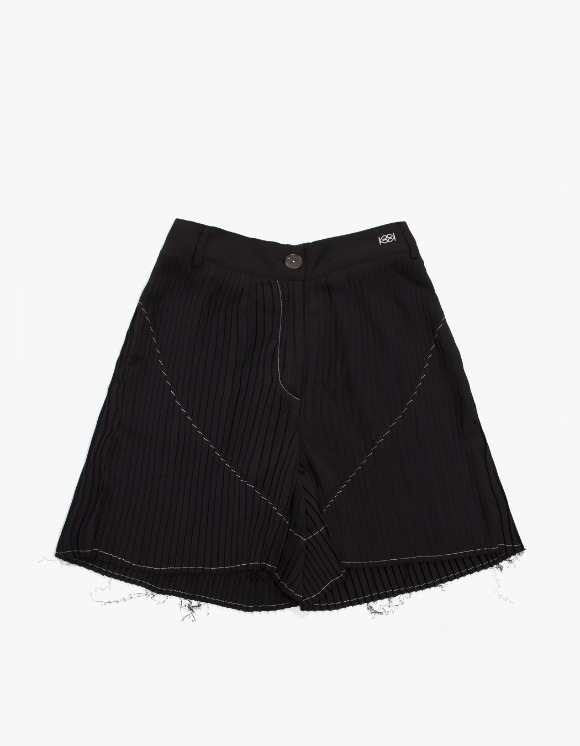 KIJUN Pleats Shorts - Black | HEIGHTS. | 하이츠 온라인 스토어