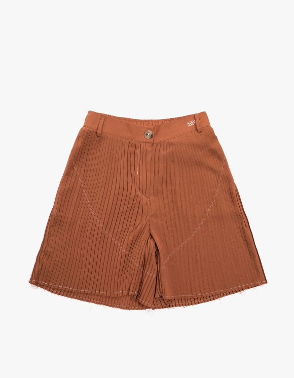 KIJUN Pleats Shorts - Brown | HEIGHTS. | 하이츠 온라인 스토어