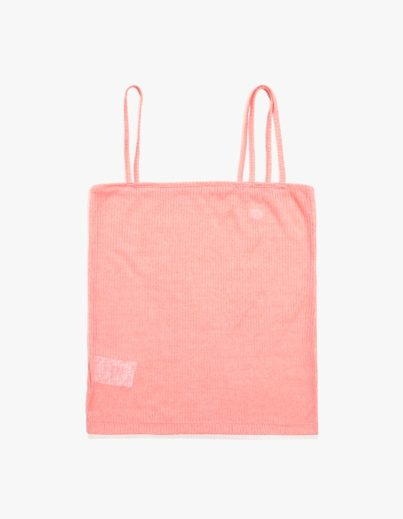 KIJUN Cross String Tank Top - Coral Pink | HEIGHTS. | 하이츠 온라인 스토어
