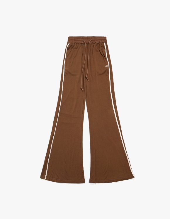 KIJUN Flared Lounge Pants - Brown | HEIGHTS. | 하이츠 온라인 스토어