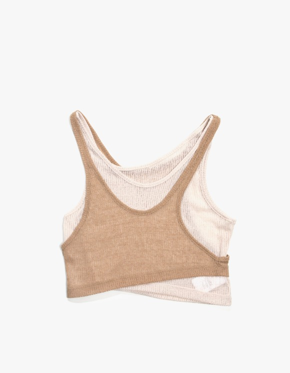 KIJUN Layer Tank Top - Beige | HEIGHTS. | 하이츠 온라인 스토어