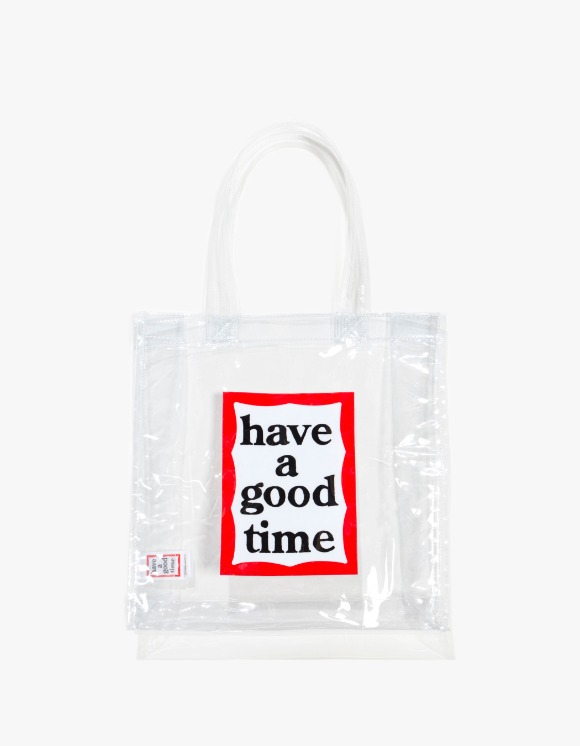 have a good time PVC Clear Tote - Clear | HEIGHTS. | 하이츠 온라인 스토어