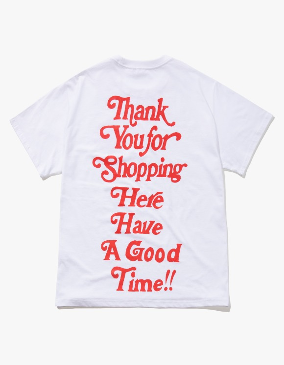 have a good time Thank you for Shopping S/S Tee - White | HEIGHTS. | 하이츠 온라인 스토어