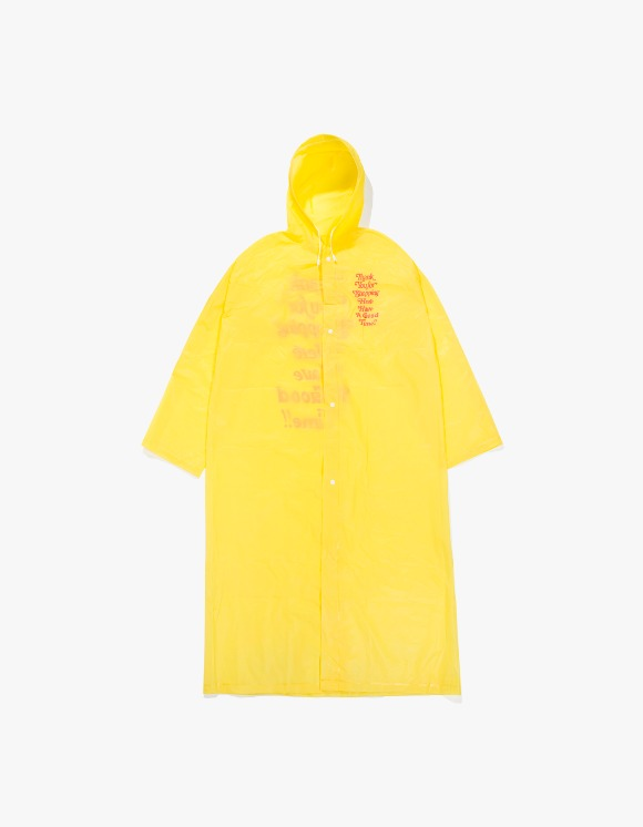have a good time Thank you For Shopping Raincoat (Mini Bag Included) - Yellow | HEIGHTS. | 하이츠 온라인 스토어