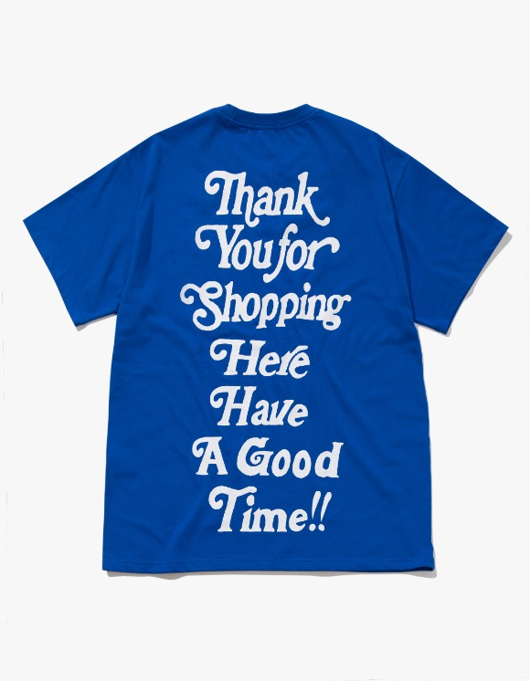 have a good time Thank you for Shopping S/S Tee - Cobalt Blue | HEIGHTS. | 하이츠 온라인 스토어
