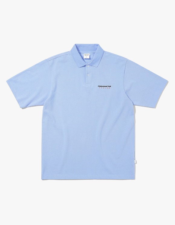 thisisneverthat DSN S/SL Jersey Polo - Sky Blue | HEIGHTS. | 하이츠 온라인 스토어