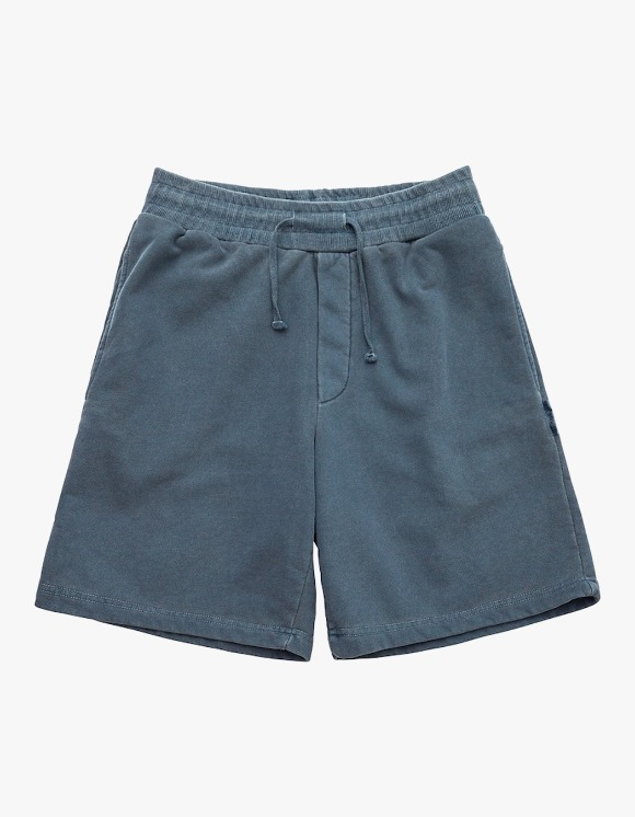 AECA WHITE Finest Cotton Shorts - Washed Navy | HEIGHTS. | 하이츠 온라인 스토어