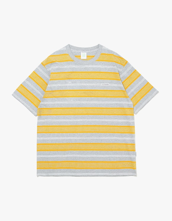 yeseyesee Stripe Tee - Yellow | HEIGHTS. | 하이츠 온라인 스토어