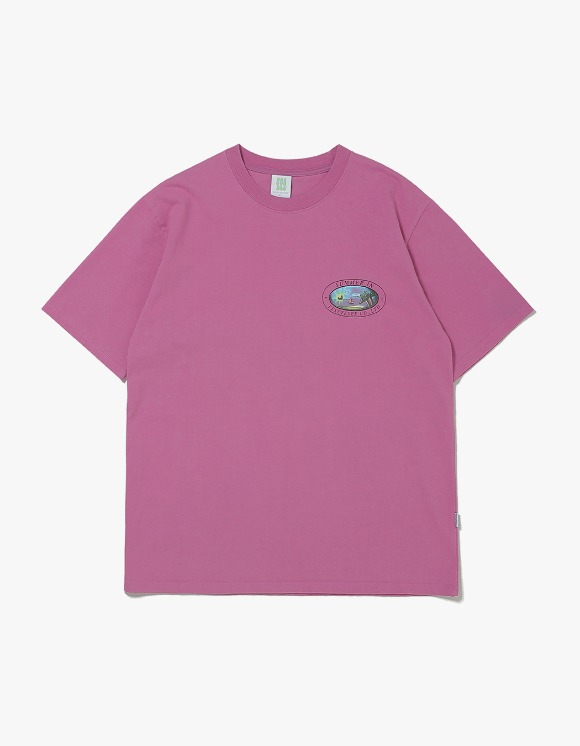 yeseyesee Y.E.S Summer Tee - Purple | HEIGHTS. | 하이츠 온라인 스토어