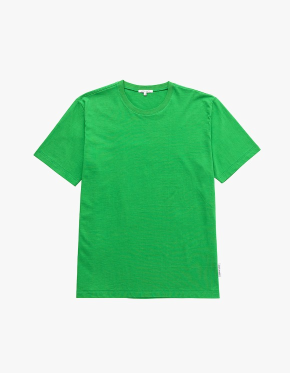 AECA WHITE Finest Cotton Half Sleeve Tee - Green | HEIGHTS. | 하이츠 온라인 스토어