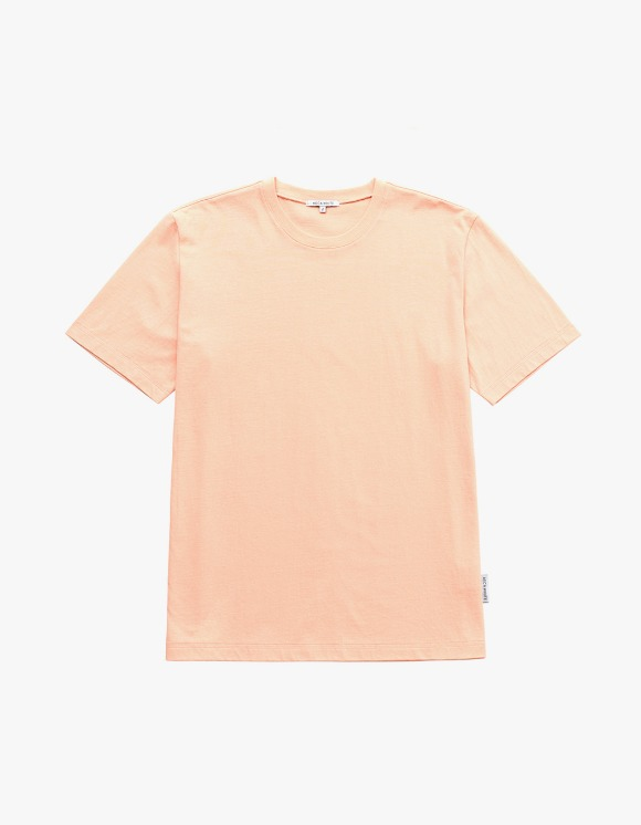AECA WHITE Finest Cotton Half Sleeve Tee - Apricot | HEIGHTS. | 하이츠 온라인 스토어