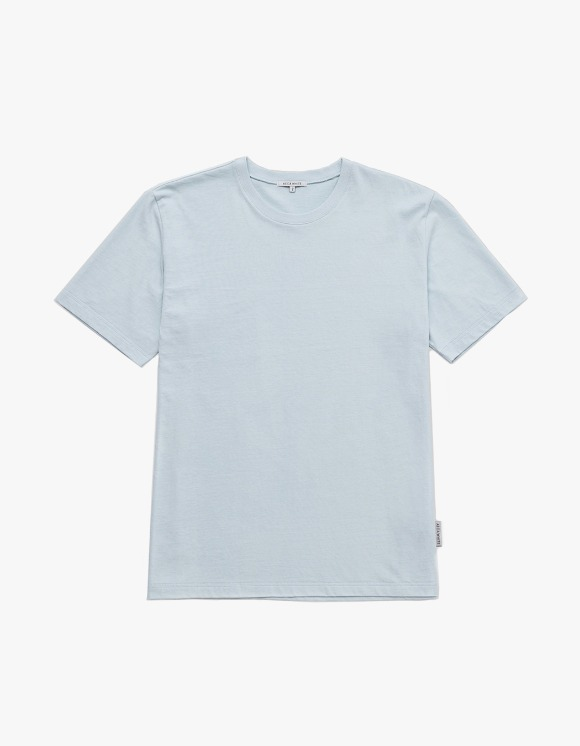 AECA WHITE Finest Cotton Half Sleeve Tee - Sky Blue | HEIGHTS. | 하이츠 온라인 스토어