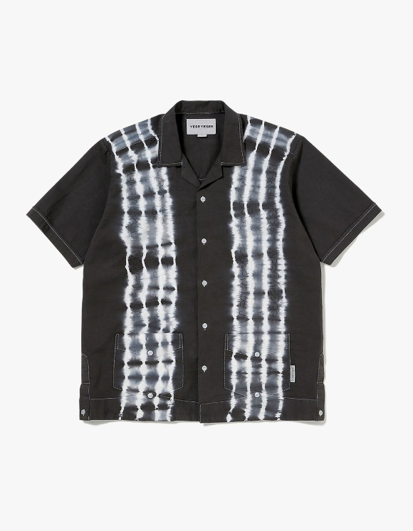 yeseyesee Tie Dyed Aloha Shirts - Black | HEIGHTS. | 하이츠 온라인 스토어