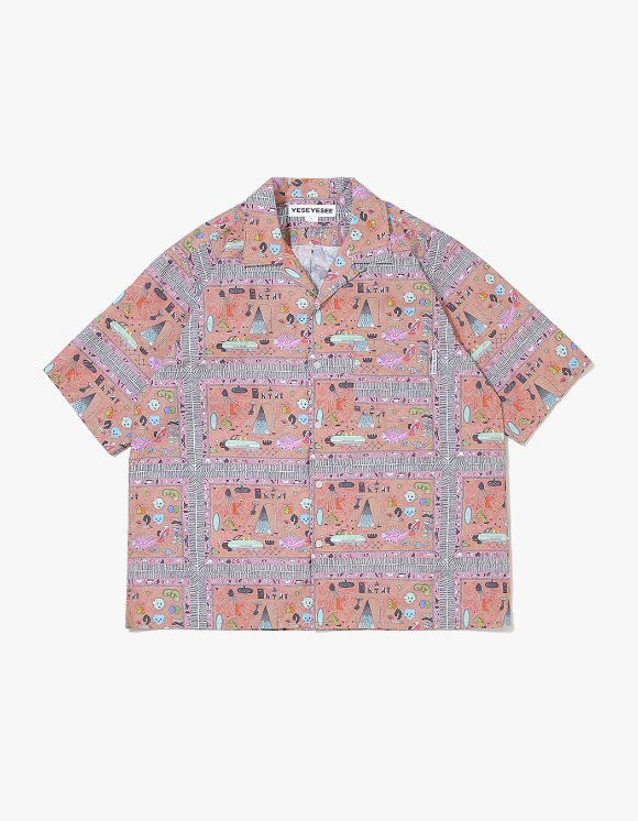 yeseyesee Juwonman Aloha Shirts - Carpet | HEIGHTS. | 하이츠 온라인 스토어