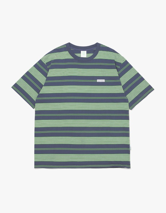 yeseyesee Stripe Tee - Green | HEIGHTS. | 하이츠 온라인 스토어