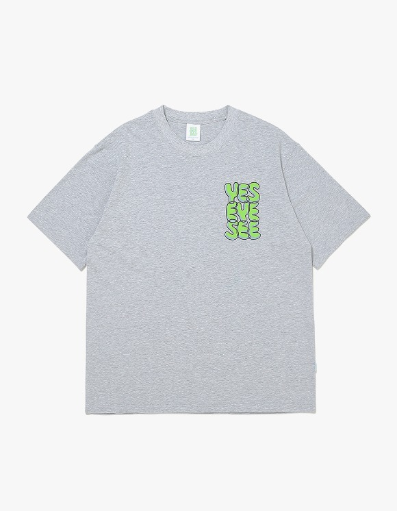 yeseyesee Y.E.S Path Tee - Grey | HEIGHTS. | 하이츠 온라인 스토어