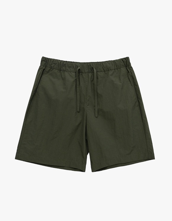 AECA WHITE Summer Essential Shorts - Dark Olive | HEIGHTS. | 하이츠 온라인 스토어