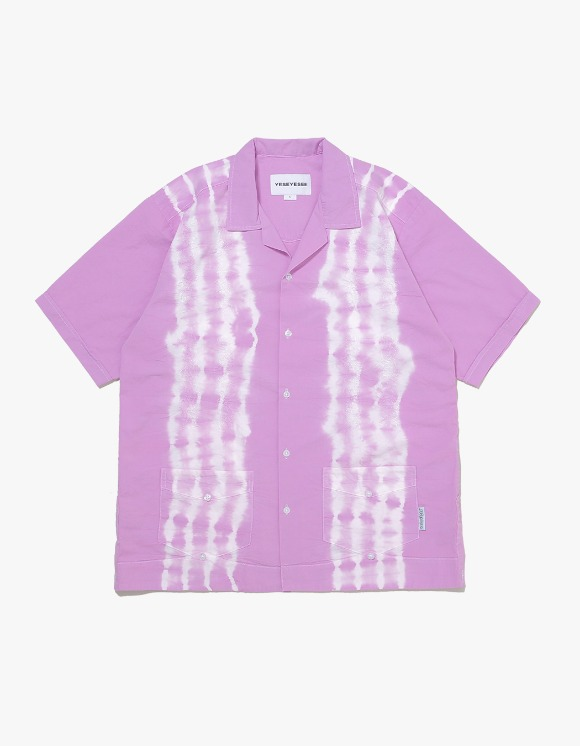 yeseyesee Tie Dyed Aloha Shirts - Lilac | HEIGHTS. | 하이츠 온라인 스토어