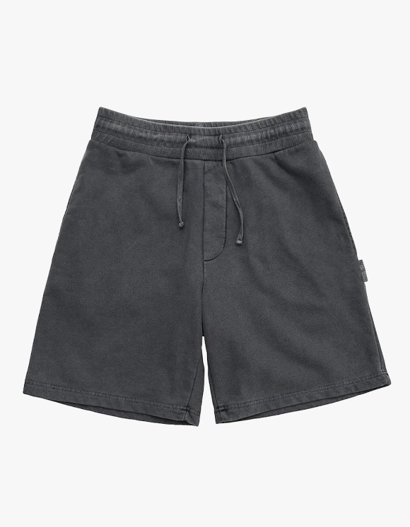AECA WHITE Finest Cotton Shorts - Washed Charcoal | HEIGHTS. | 하이츠 온라인 스토어