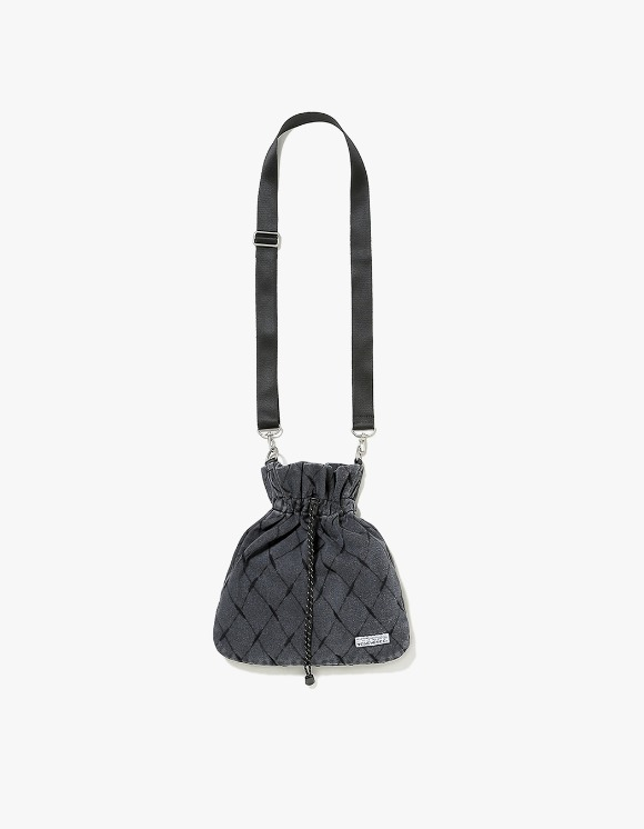 yeseyesee Net Denim Pocket Bag - Black | HEIGHTS. | 하이츠 온라인 스토어