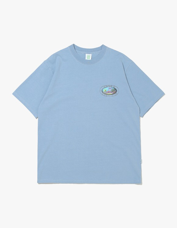 yeseyesee Y.E.S Summer Tee - Sky Blue | HEIGHTS. | 하이츠 온라인 스토어