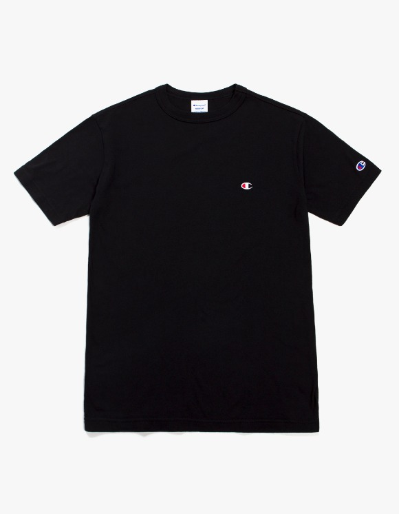 Champion Champion Basic S/S Tee - Black | HEIGHTS. | 하이츠 온라인 스토어