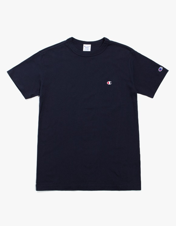 Champion Champion Basic S/S Tee - Navy | HEIGHTS. | 하이츠 온라인 스토어