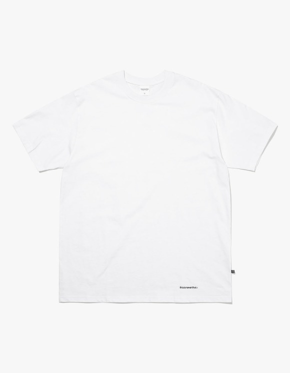 thisisneverthat Small T-Logo Tee - White | HEIGHTS. | 하이츠 온라인 스토어