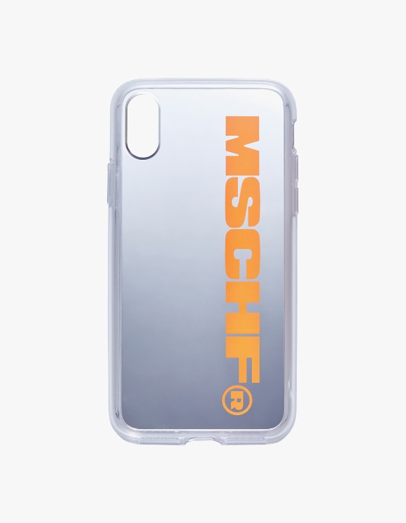 MISCHIEF MSCHF iPhone Mirror Case - Neon Orange | HEIGHTS. | 하이츠 온라인 스토어