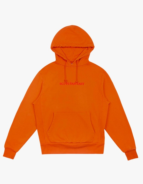 Sci-Fi Fantasy Sci-Fi Fantasy Logo Hoodie - Orange | HEIGHTS. | 하이츠 온라인 스토어