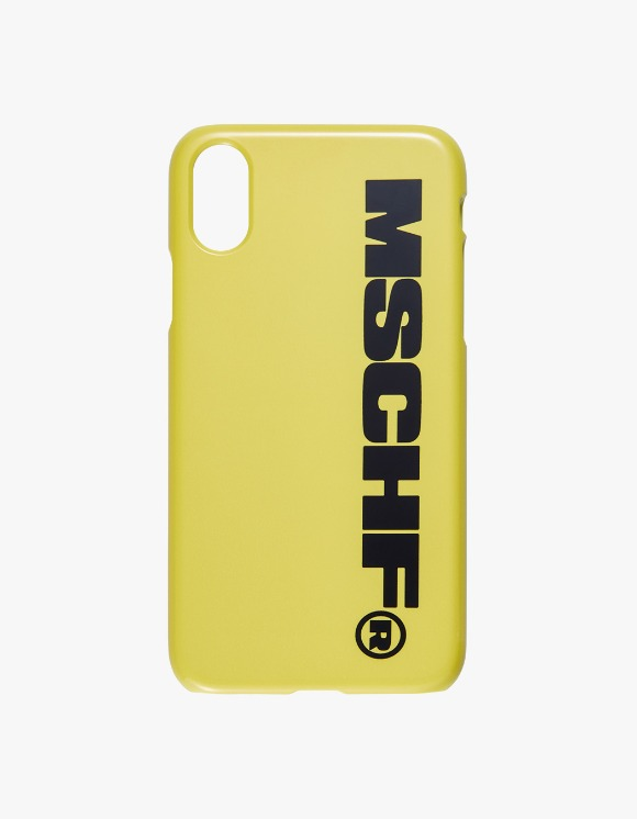 MISCHIEF MSCHF iPhone Case - Yellow/Black | HEIGHTS. | 하이츠 온라인 스토어