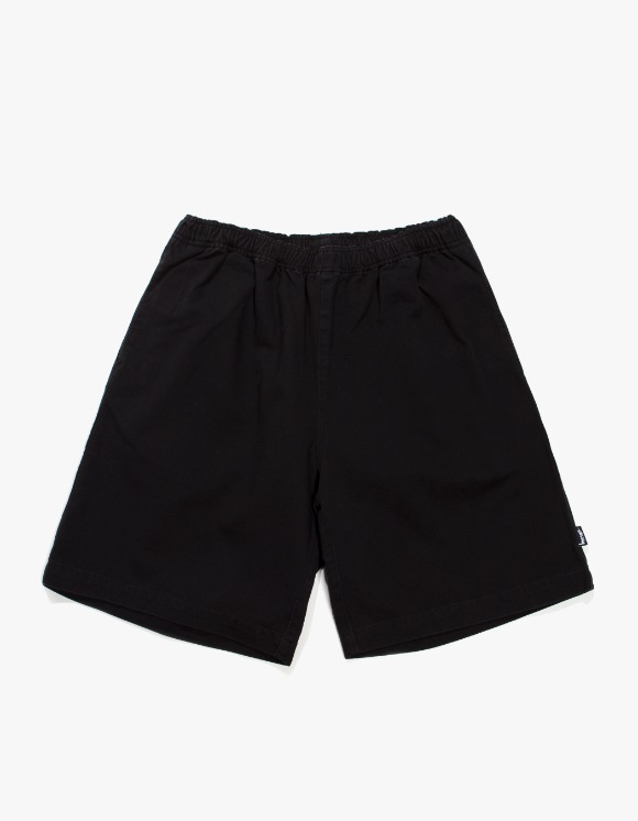 Stussy Brushed Beach Shorts - Black | HEIGHTS. | 하이츠 온라인 스토어