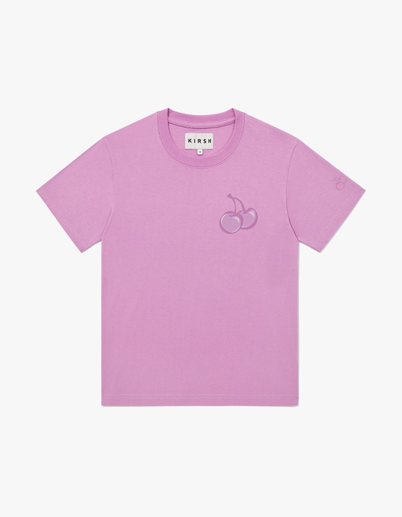 KIRSH TONE ON TONE MIDDLE CHERRY T-SHIRT JH - Pink | HEIGHTS. | 하이츠 온라인 스토어