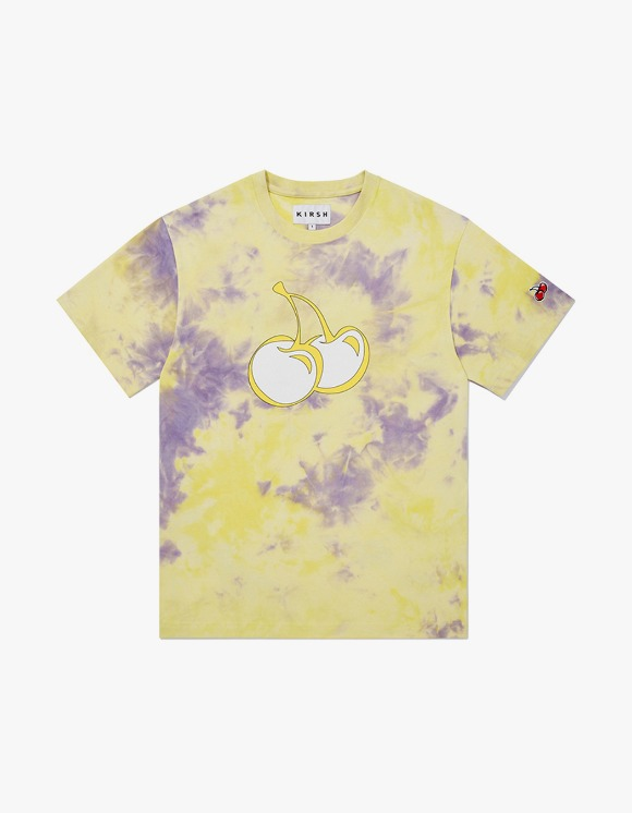 KIRSH TIE DYE HEAT SENSING T-SHIRT JH - Yellow | HEIGHTS. | 하이츠 온라인 스토어