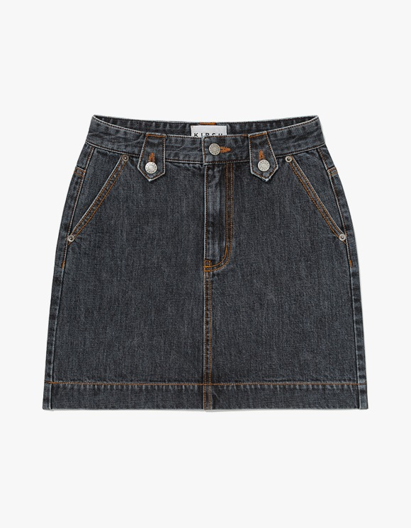 KIRSH KIRSH RETRO DENIM SKIRT JH - Black | HEIGHTS. | 하이츠 온라인 스토어