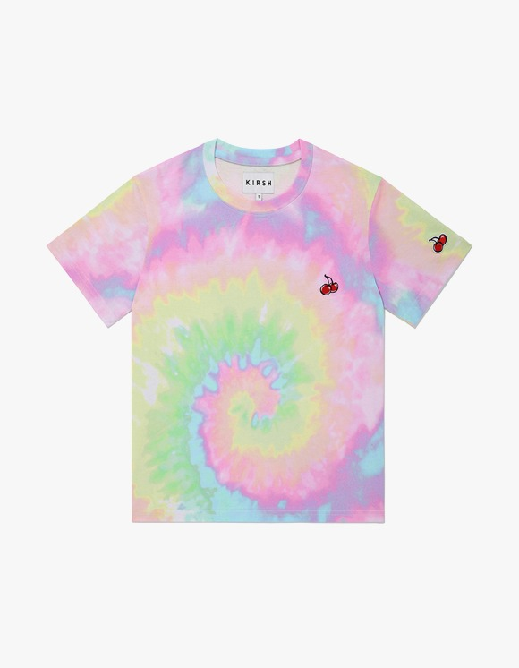 KIRSH SMALL CHERRY LOLLYPOP TIE-DYE T-SHIRTS JH - Rainbow | HEIGHTS. | 하이츠 온라인 스토어