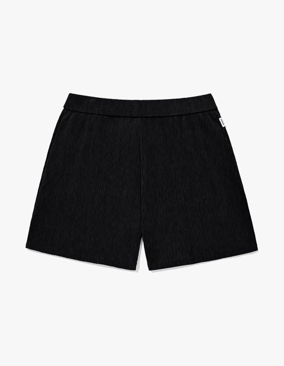 KIRSH KIRSH WRINKLE SHORT PANTS JH - Black | HEIGHTS. | 하이츠 온라인 스토어