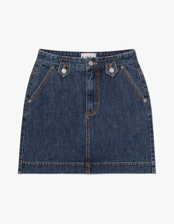 KIRSH KIRSH RETRO DENIM SKIRT JH - Blue | HEIGHTS. | 하이츠 온라인 스토어